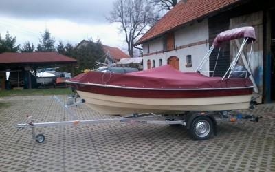 LS 557 motorówka 4,2m